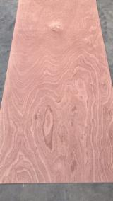 Red Sapele Veneer Plywood/Sapelli Plyboard/Commercial Plywood.