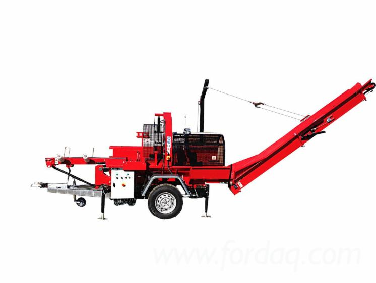 Firewood-Processor-Mobile-25-ton---spaltautomat--Cleaving-Machines