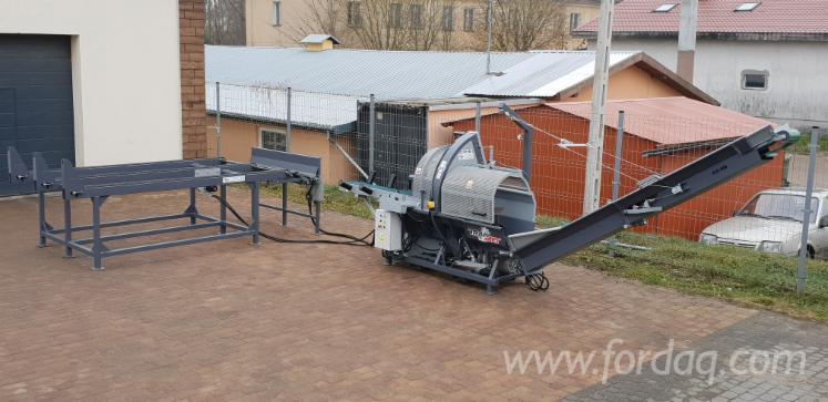 Vender-Serra-Divisora-Combinada-Para-Lenha-Trak-Met-PLD-450-AUTOMAT-25-TON-Novo