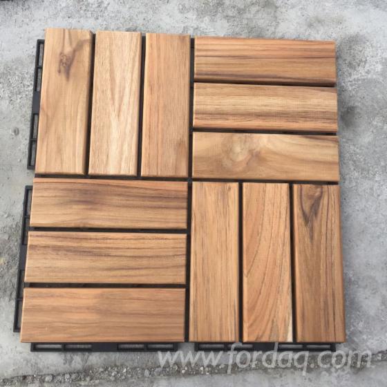 Decking---Solid-Teak-Deck-Tiles-for-Garden--Balcony--Poolside