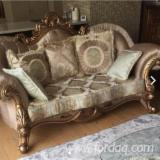 Living Room Furniture importers and buyers - Buy Hardwood Upholstered Sofas / Lounge sofas
