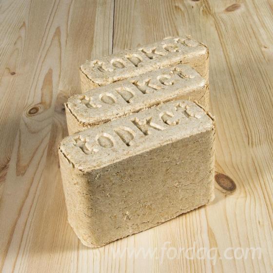 Gewerblicher Handel ISPM 15 Kiefer - Föhre Holzbriketts Russland