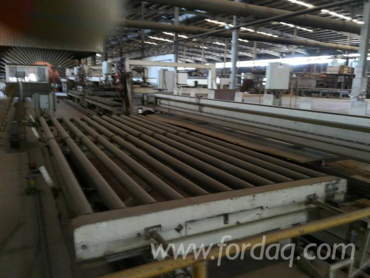 Used-Germany-MDF-continuous-flat-press-line-Used-Siempelkamp-MDF-HDF-production