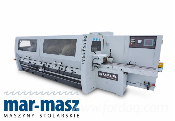 Four-side-planer-KUPER-SWT-23-XLS-9D--microprocessor-display--ideal-for-wet-wood
