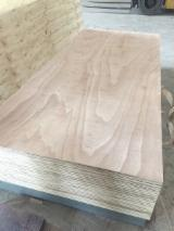 7 - 14 mm Packing Plywood with Glue E2 ( glue 70% + water 30%) from Vietnam