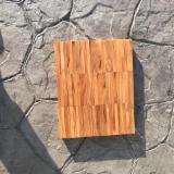 Teak, Deska Podłogowa Drewniana Klejona