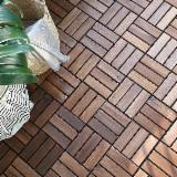 Waterproof Terrace Hardwood Deck Tiles