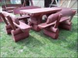 European Black Pine Garden Furniture - Country European Black Pine (Pinus Nigra) Garden Sets Poland