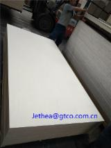 1.22x2.44m 18mm thick CARB P2 Bleached Poplar plywood