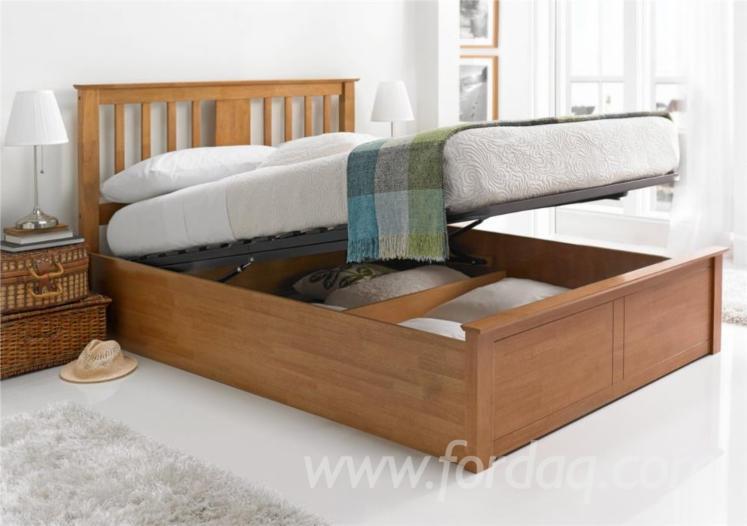 MDF Bed with Storage Underneath