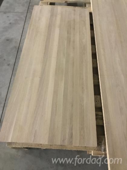 1 Schicht Massivholzplatten, Buche, Eiche, Walnuß