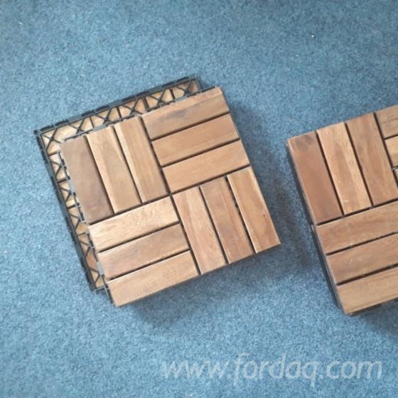 Decking - Garden Flooring - Acacia Deck Tiles