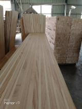 null - African Paulownia 18; 20; 25; 30 mm Glued (Discontinuous Stave) Asian Hardwood from China
