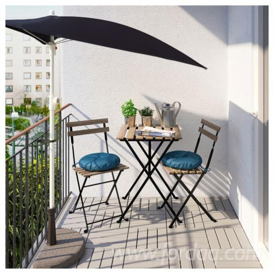 Bistro Set for Garden Balcony - Furniture Set for Swimming Pool