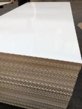 Vend Panneaux De Fibres Moyenne Densité - MDF 17 mm Mélaminé Blanc
