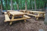 Gartenmöbel Zu Verkaufen - Tischbänkesitzgruppen Gartensitzdruppen Robinieholz Robinia pseudoacacia Falsche Akazie