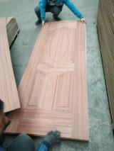 3 mm Oak HDF Skin For Doors Decoration