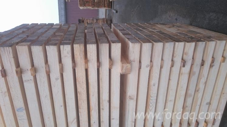ISPM 15 Fir , Pine - Scots Pine, Spruce Packaging timber from Germany, Baden-Württemberg