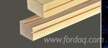 Massivholz, Kiefer - Föhre, Türpfosten, Querstücke, Türrahmen