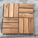 Trova le migliori forniture di legname su Fordaq - NK VIETNAM.,JSC - Vendo Decking Antisdrucciolo (1 Faccia) FSC Teak