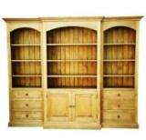Spruce Living Room Furniture - Contemporary Spruce (Picea Abies) Bookcase Romania