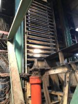 Used two sides press MDF production line