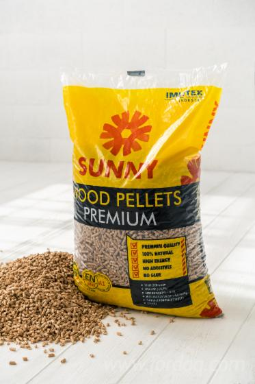 EN plus A1 and DIN plus certified wood pellets , Sunny Pellets PREMIUM