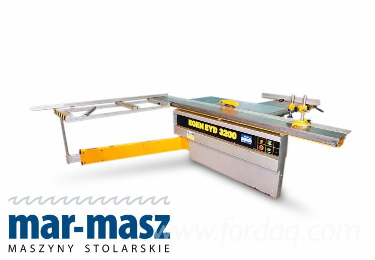 Egen Eyd 3200 format saw, wood saw, reciprocating saw, formatter, edger