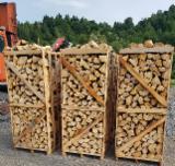 Energie- Und Feuerholz Luftgetrocknet 6 Monate - Fichte Brennholz Gespalten 6; 8; 12 cm