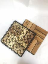 Teak Wooden Deck Tiles with Plastic Base for Swimming Pool Flooring