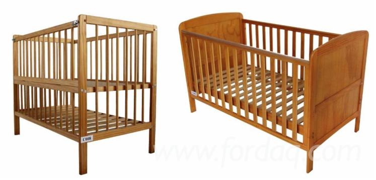 Pine--Beech-Baby-Cribs