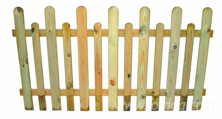 Pine-Impregnated-Gates