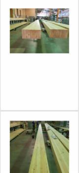 Lijepljene Grede I Paneli Za Gradnje - Pridružite Se Na Fordaq I Vidite Najbolje Ponude I Potražnje Panel Ploče  - Lamcol - Ravne Grede, Ariš