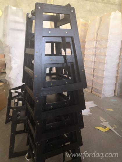 Baby Solid Wood High Chairs in Pine, Beech, Birch, Poplar