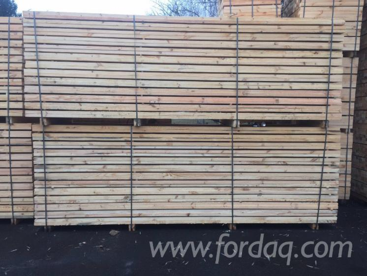 37 mm Air Dry (AD) Pine - Scots Pine, Spruce