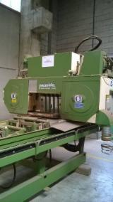 Mașini, Utilaje, Feronerie Și Produse Pentru Tratarea Suprafețelor Europa - Vand Instalatii Pentru Debitat Busteni Cu Panza Panglica Orizontala PEZZOLATO Timber Queen Hd7 Second Hand Belgia