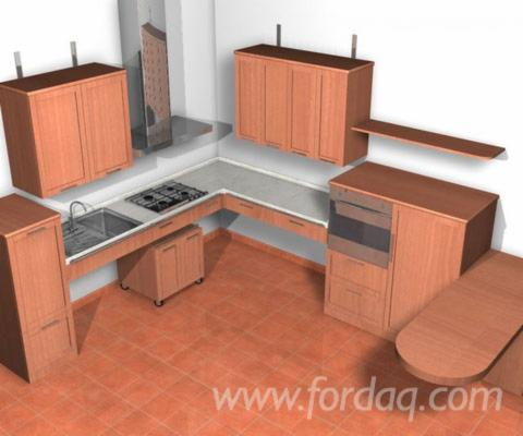 Multi Custom Made Kitchen Sets for Disabled Individuals