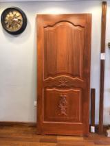 Holzkomponenten, Hobelware, Türen & Fenster, Häuser - Asiatisches Laubholz, Türen, Massivholz, Teak
