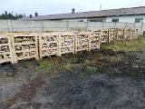 Bois De Chauffage, Granulés Et Résidus Europe - Vend Bûches Non Fendues Bouleau, Hêtre, Aulne Noir FSC Pomorskie