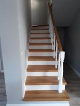 Beech Wood Components - Beech, Oak Stair Treads Romania