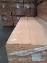 天然木皮单板, 榉木, 平切,平坦