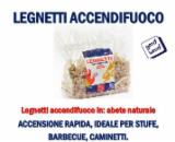 Leña, Pellets y Residuos - Venta Encender Abeto - Madera Blanca Italia