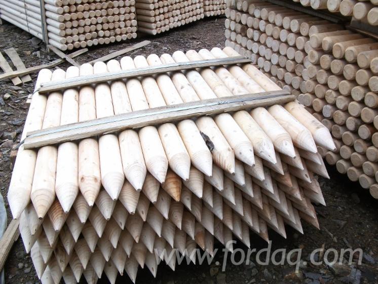 Vender Madeira Redonda De Formato Cónico Abeto - Whitewood Suécia