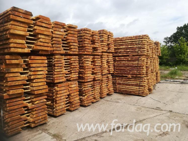 Unedged Fresh Siberian Larch Timber, 25-63 mm