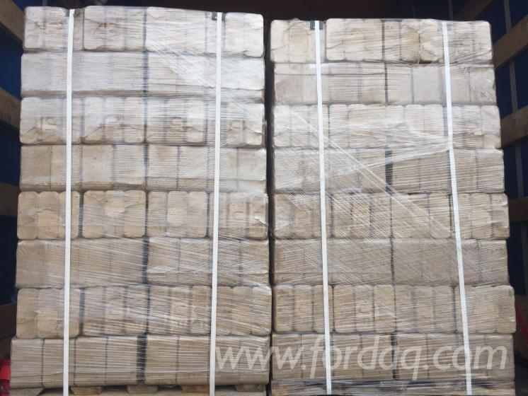 Pine - Scots Pine Wood Briquets
