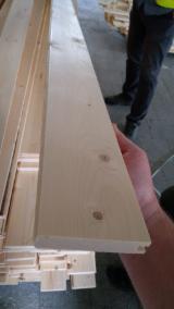 Trouvez tous les produits bois sur Fordaq - Proton LLC - Vend Parquet Massif - Lames À Chants Droits FSC Epicéa - Bois Blancs, Pin - Bois Rouge 20; 26; 40 mm Архангельск