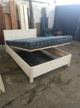 Fir Bedroom Furniture - Traditional Fir (Abies Alba) Beds Romania