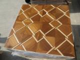 Art Parquetry Tiles Engineered Wood Flooring
