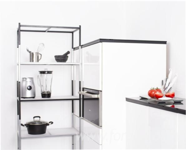 Wood+Metal Kitchen Shelf