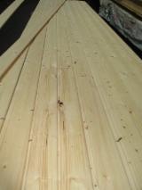 Drewno Lite, Świerk - Whitewood, Siding Zewnętrzny